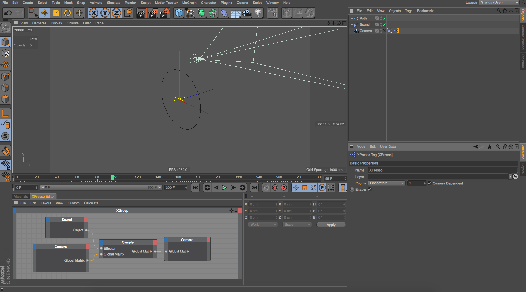 Is it possible to animate an object aligned to a spline